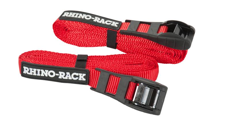 Rtd45p Rapid Straps W Buckle Protector 15ft Rhino Rack