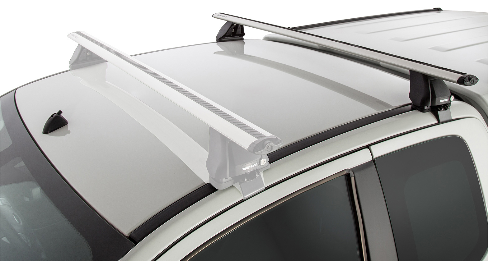Ja2611 Vortex 2500 Silver 1 Bar Roof Rack Rear
