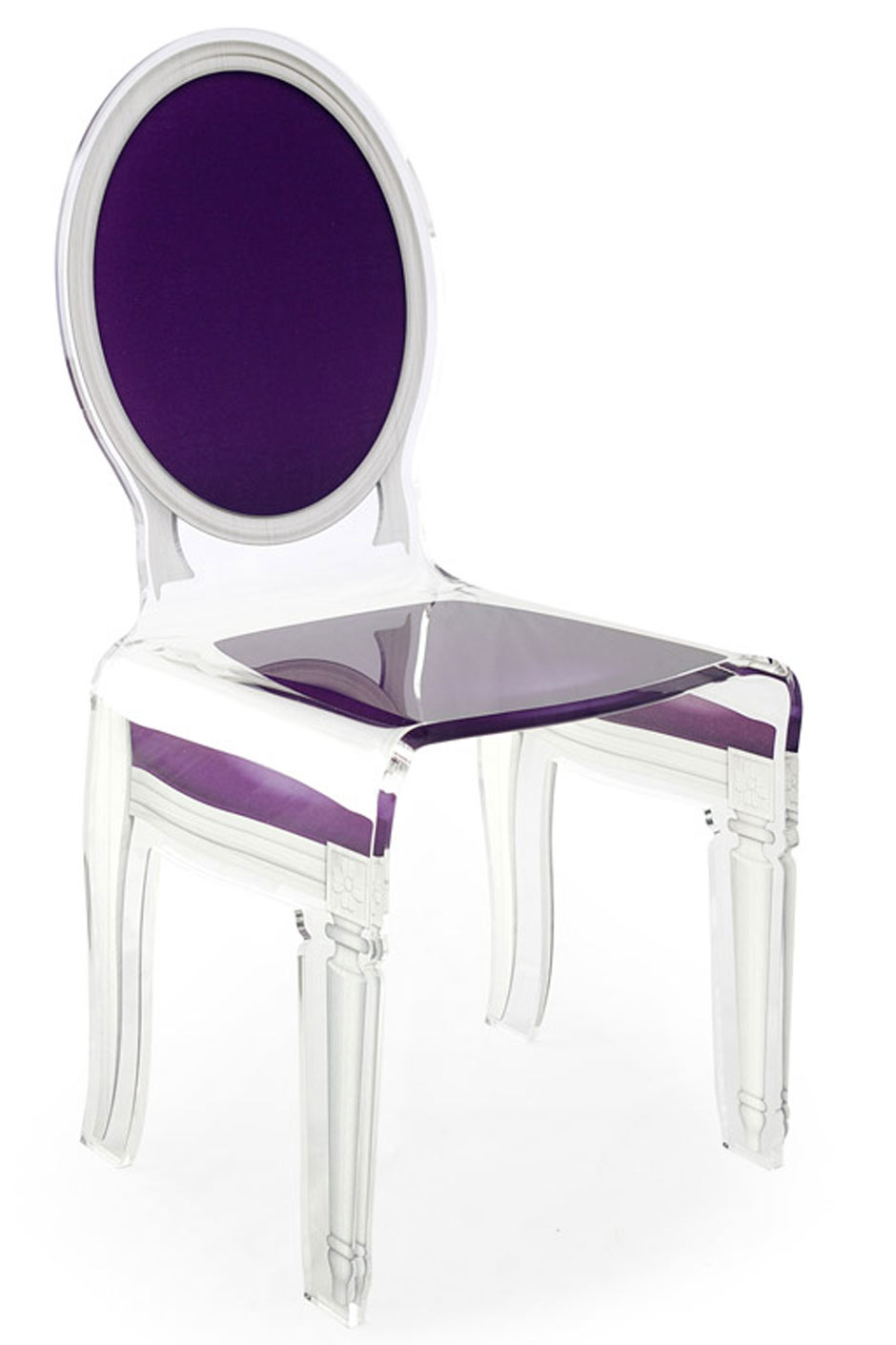 Discount Chaises Salle Manger Chaise Violette