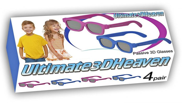 3D Heaven Passive Polarized 3D Glasses for Kids Featured