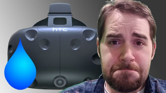 HTC Vive Sweat Damage