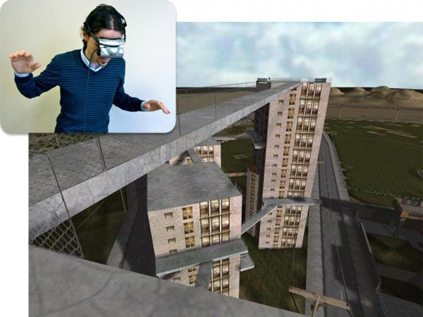 vr therapy Acrophobia fear of heights