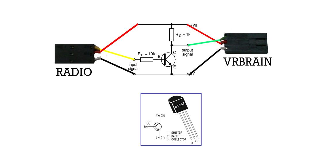 futaba receiver diagram