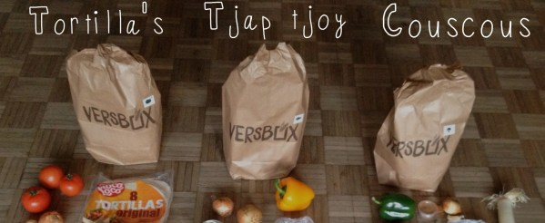 Weekmenu Versbox