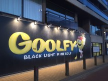 Goolfy glow in the dark minigolf Blankenberge
