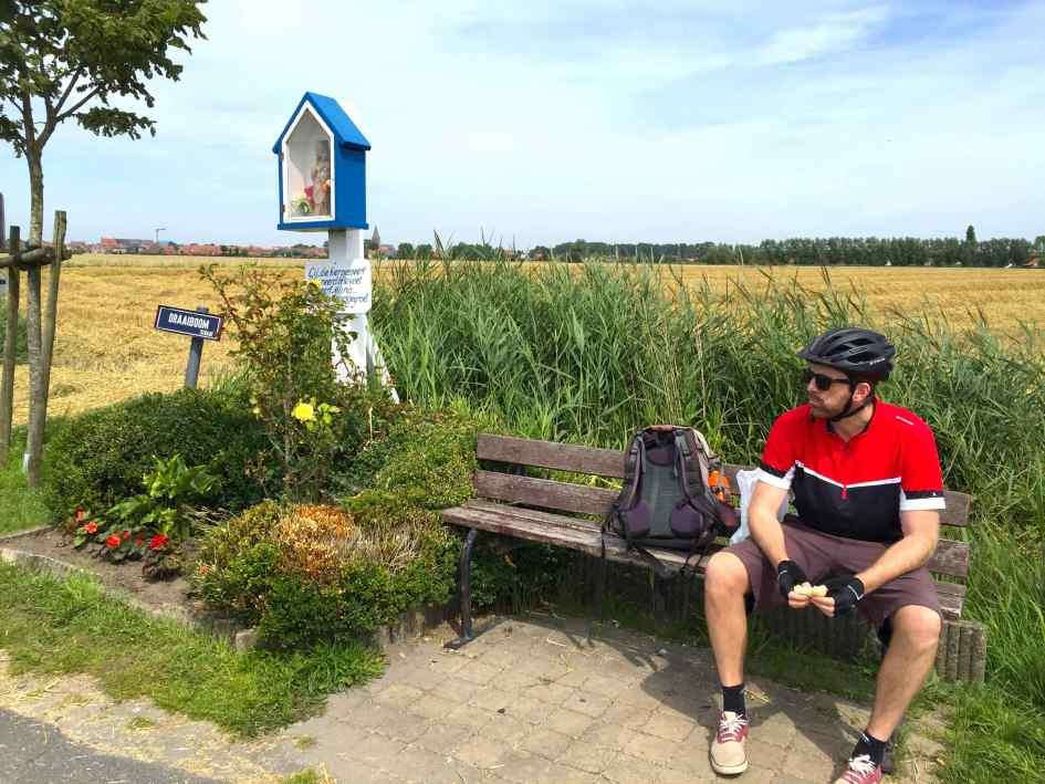 Kapelletjes langs fietsroute West-Vlaanderen