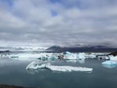 ijsbergen in meer
