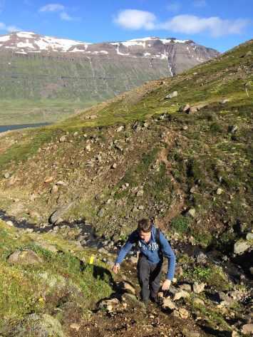 Wandelen in Seydisfjordur