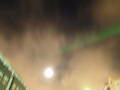 noorderlicht in Reykjavik