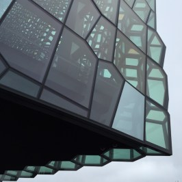 Harpa Reykjavik close-up