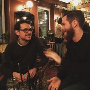 Alexis en Niklas Vagabond Barrr
