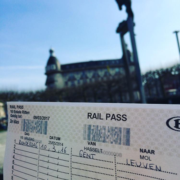 Gent naar Leuven met de trein