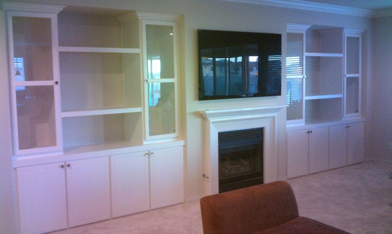 Large Of Built In Cabinets