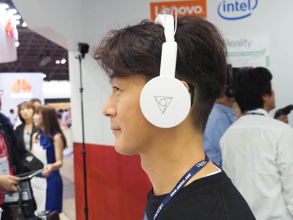 【CEATEC 2016】VRに最適なヘッドフォン「ヴィー・シェア」レポート