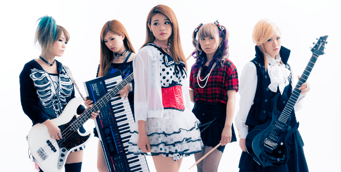 貝斯手Basil、鍵盤琴手Layra、主音Rani、鼓手misaT及結他手Noa(照片由左至右)