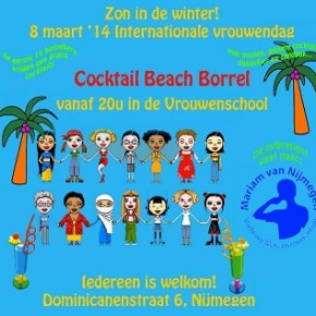 Benefietborrel Internationale Vrouwendag