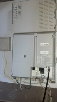 Solved: Verizon box in my furnace room is beeping, how to