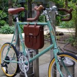 BRUNO Minivelo 20 ROAD / Rust Green + BROOKS B3 LARGE BAG