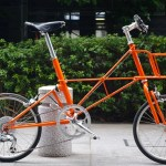 ALEX MOULTON TSR-9 / HERMES COLOR + ORIGINAL FRONT BASKET