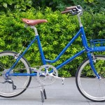E.B.S LEAF / MATT BLUE + Front Basket