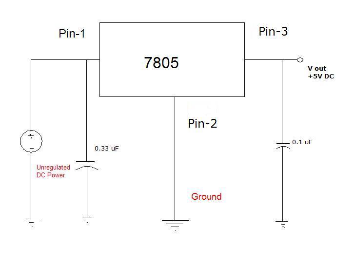 Build 5V regulated power supply from 9V DC adapter Vishnu\u0027s Blogs