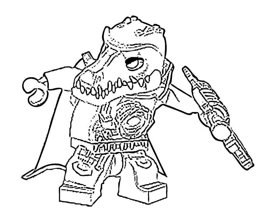 Lego Chima Coloring Pages - Eskayalitim