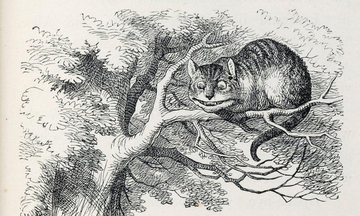 """Одна з ілюстрацій до першого видання """"Аліси в Країні Див"""""""