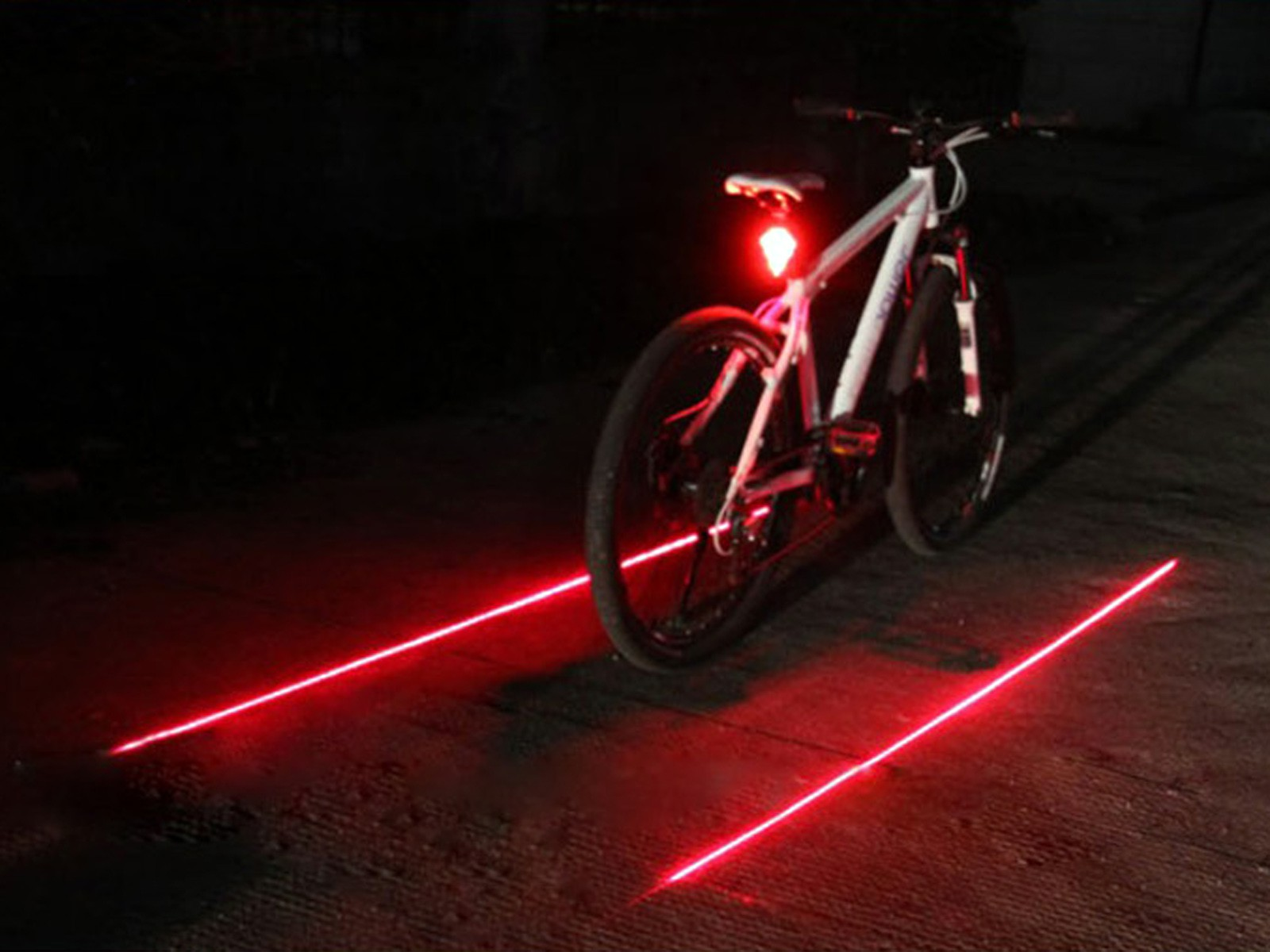 Eclairage Velo Led Usb Led Laser Lampe Feux Arriere Velo Moto Vtt Usb Bicycle