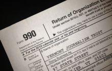 Vermont Journalism Trust releases 2012 tax information