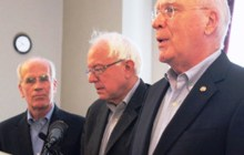 Sanders ordered to hit the deck during Capitol Hill shooting