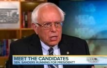 Margolis: Sanders goes negative