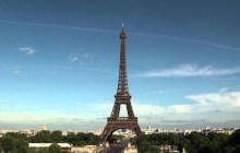 Fracked Gas protest follows Shumlin to Paris