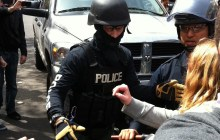 Burlington police commissioner disturbed by masks on officers