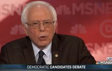 MSNBC debate: Sanders hammers on Clinton's Wall Street campaign contributions