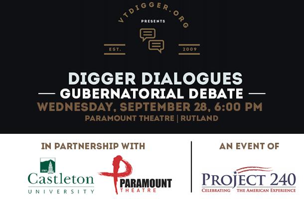Digger Dialogue: Gubernatorial Debate in Rutland