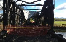 Cornwall covered bridge fire may have damaged bat colony