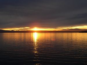 Sunset over Lake Champlain, stockxchng.com