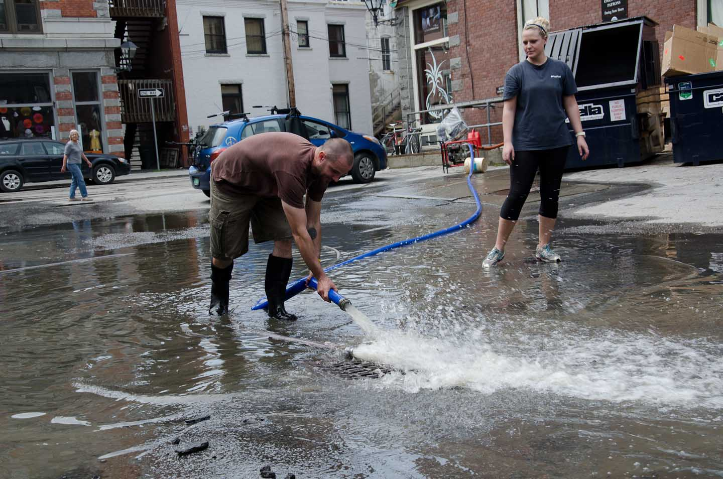Flash floods devastate barre montpelier and st johnsbury
