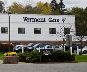 Vermont Gas headquarters in South Burlington. VTD/Josh Larkin