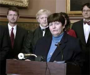 State Treasurer Beth Pearce. File from Nov. 22, 2011.