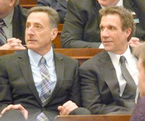 Peter Shumlin and Phil Scott.