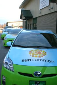 SunCommon hybrid vehicle