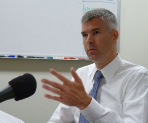 Mark Larson, commissioner of the Department of Vermont Health Access