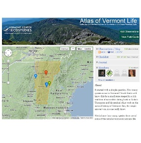 Atlas of Vermont Life screenshot