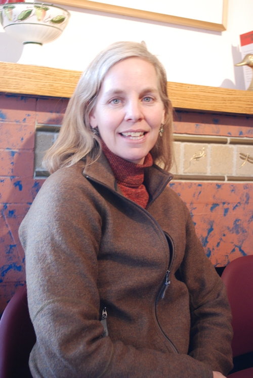Amy Seidl is a lecturer in the Environmental Program at the University of Vermont. Photo by Audrey Clark/VTDigger