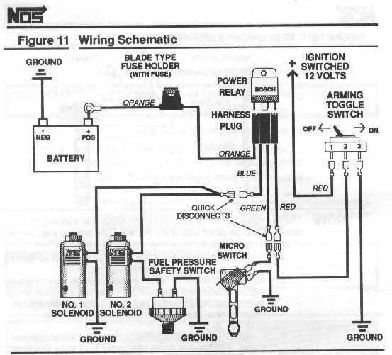 diagram for wiring nitrous purge valve