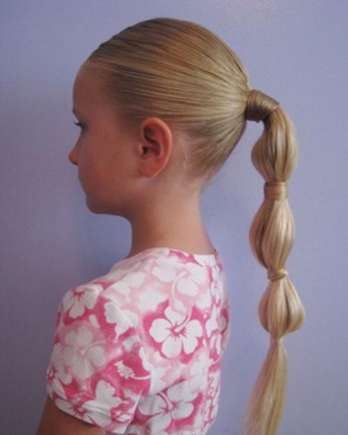 Плетение колоском прически для девочек 5