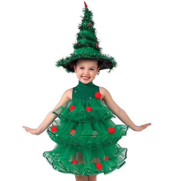 Костюм Елки. Как сделать костюм Новогодней Елки своими руками?