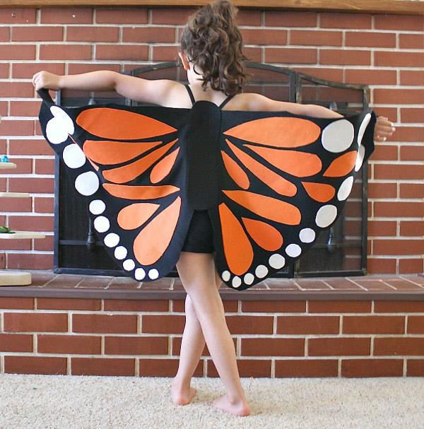 Костюмы бабочек своими руками 356
