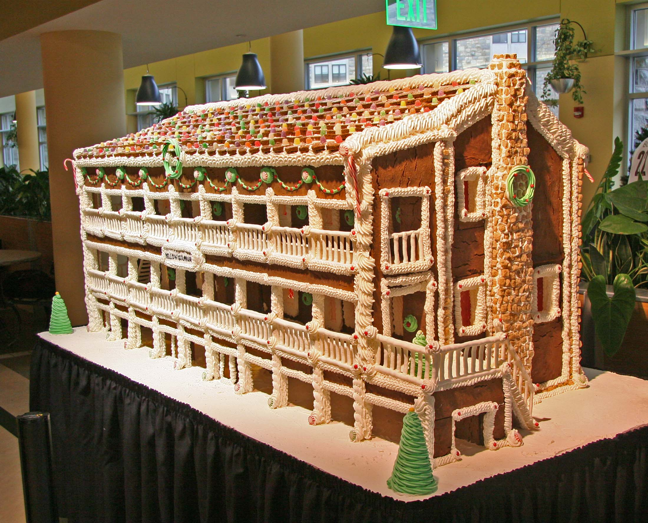 Smashing A Full Image Front Gingerbread It Is A Near Replica West End Market Boasts Gingerbread House Modeled After Local Gingerbread House Book Gingerbread House Kingman Az curbed The Gingerbread House